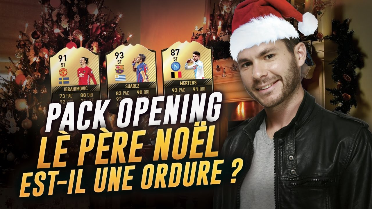 FIFA 17 - PACK OPENING - LE PERE NOËL EST-IL UNE ORDURE ? - YouTube