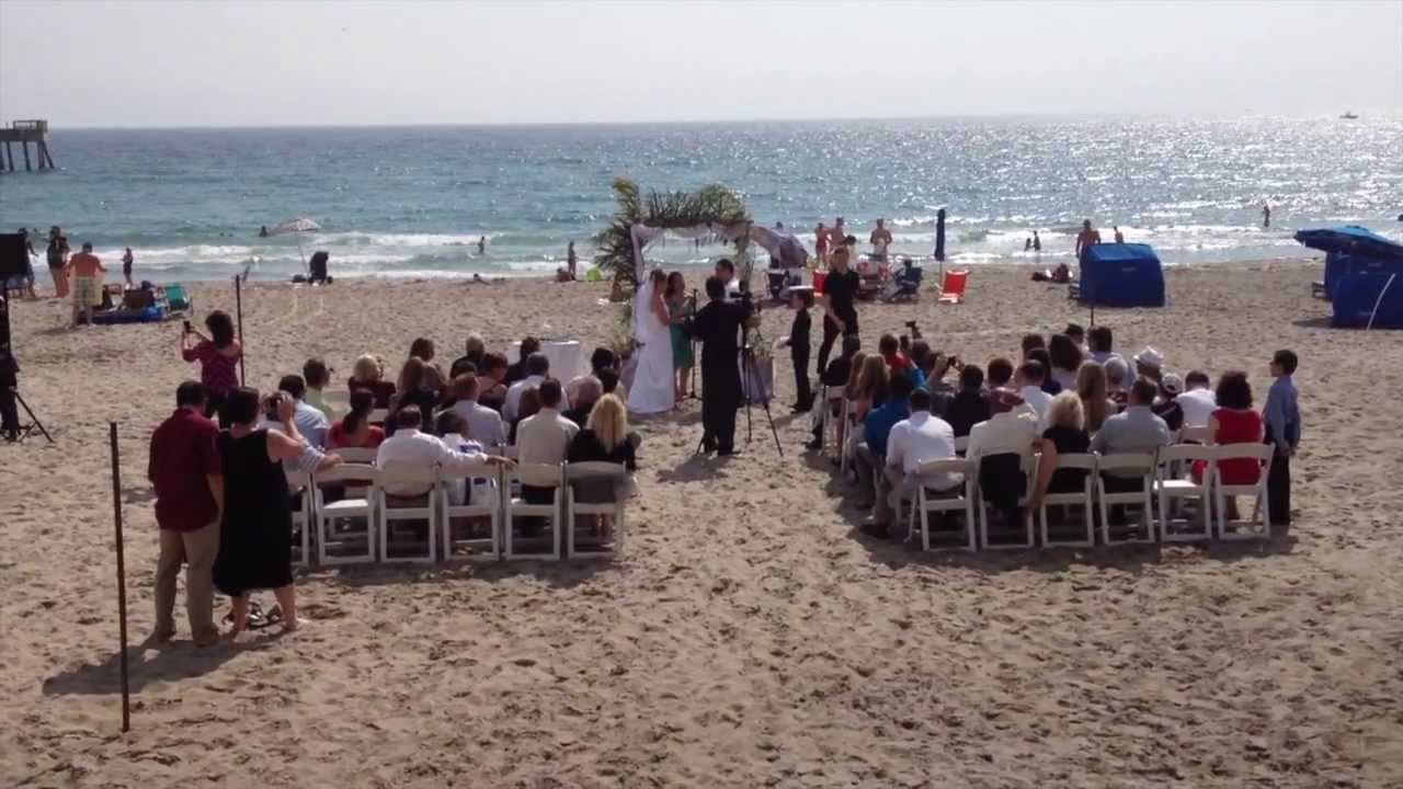 Tatyana & Phillip\'s Deerfield Beach Wedding ! - YouTube