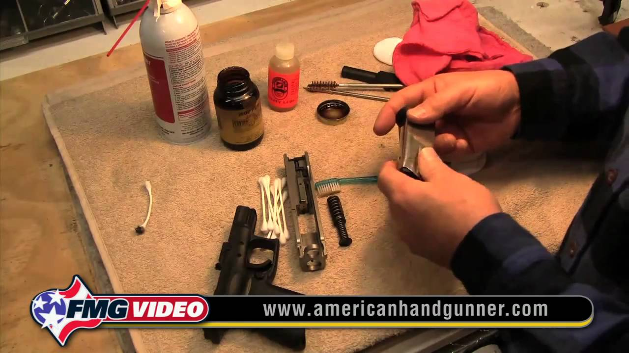 How to Clean a Gun