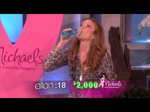 Marcia Cross Eats Donuts to Raise Money for Breast Cancer!