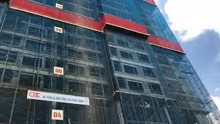 Tiến độ thi công chung cư Athena Complex Pháp Vân ngày 24/8/2020