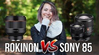 Sony 39 s BEST BUDGET Portrait Lens - Rokinon Samyang 85mm f 1 4 for a7III a7RIII