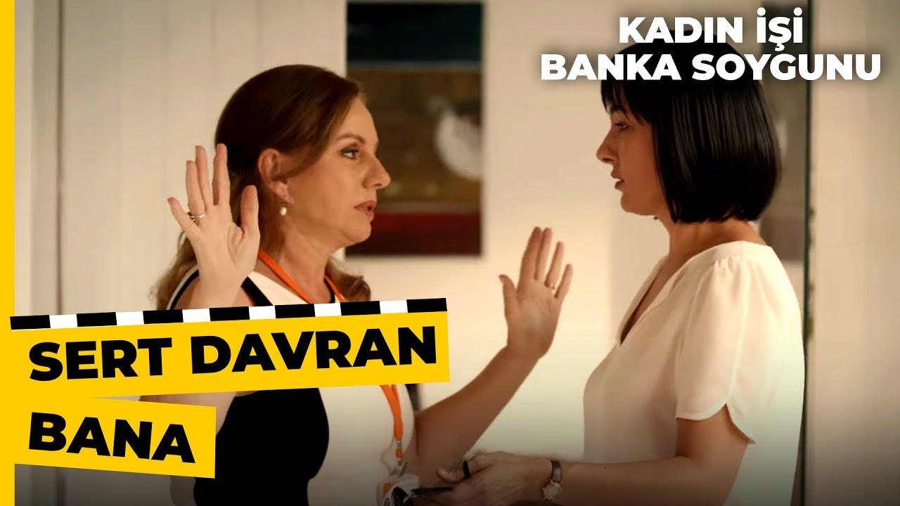 Meral, Soygun Olduğunu Anlayınca Korkuyor! | Kadın İşi Banka Soygunu