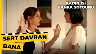 Meral Soygun Olduğunu Anlayınca Korkuyor Kadın İşi Banka Soygunu