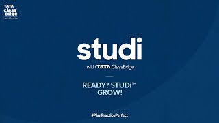 Studi With TCE | READY? STUDi GROW!