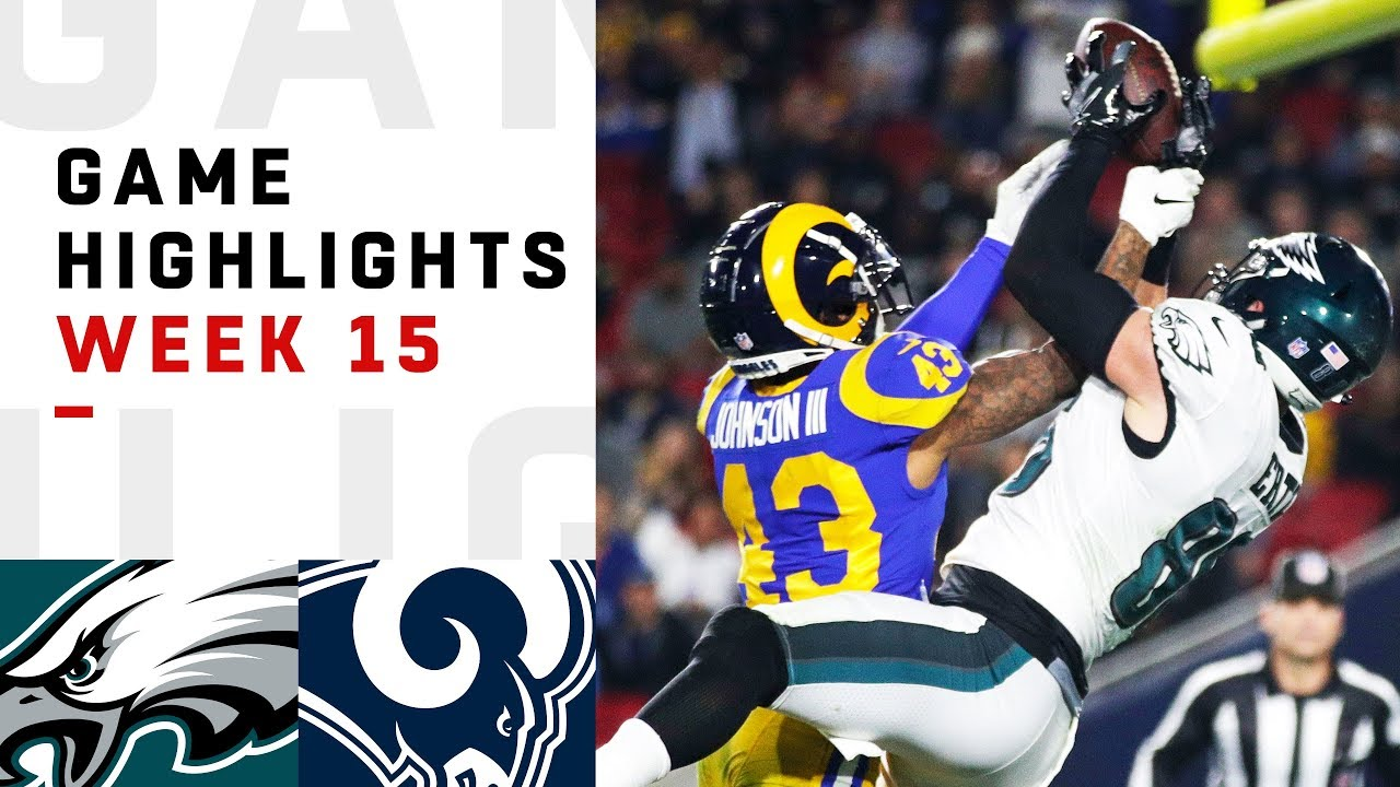 4aadf8f1 Eagles vs. Rams Week 15 Highlights | NFL 2018