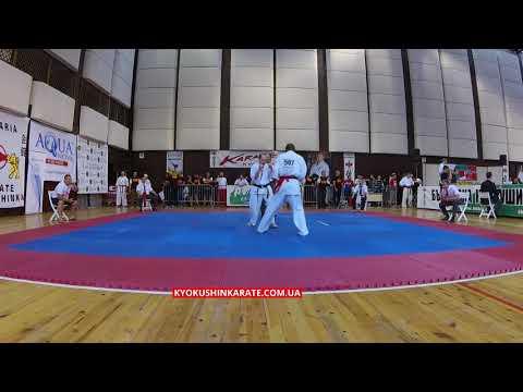 -70, 1/16 Maciej Miller (Poland) - Sthembisio Majozi (GB, aka)  - The 32nd European Championship