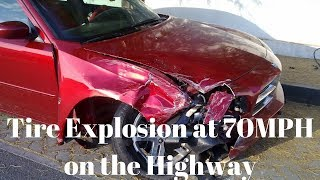 Tire Explodes at 70 MPH... How to avoid my MISTAKE..
