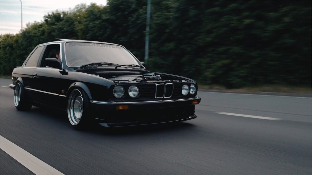 bmw e30 with turbo 39 d m50 in 4k i love bass youtube. Black Bedroom Furniture Sets. Home Design Ideas