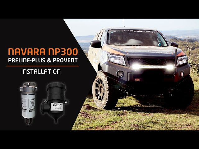 Navara NP300 PreLine Plus + ProVent Dual Kit Installation