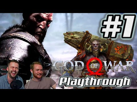 FFP Plays God of War | PS4 Playthrough #1- Opening, Daudi Kaupmaor and EPIC Stranger boss fight