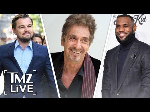 LeBron Has Power Dinner With Leo DiCaprio & Al Pacino | TMZ Live
