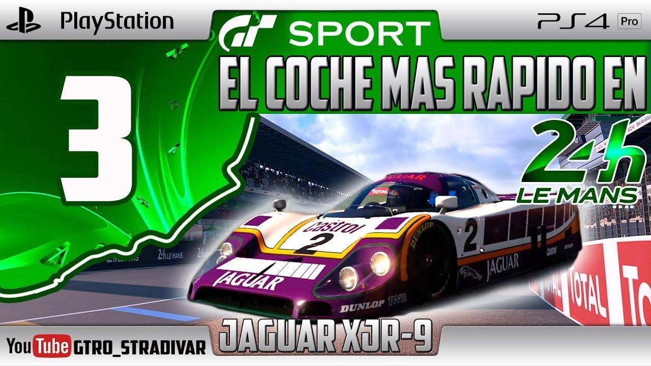 GT SPORT - EL COCHE MAS RAPIDO EN LE MANS #3 | JAGUAR XJR-9 | GTro_stradivar