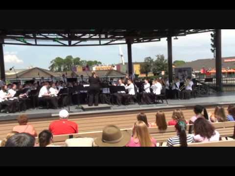WAMD Symphonic Band performing at Disney   Orlando, FLA