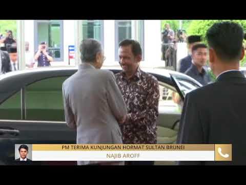 #MalaysiaMemilih: PM terima kunjungan hormat Sultan Brunei