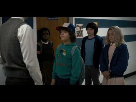 Stranger Things -  Mr. Clarke meet Eleven (HD 1080p)