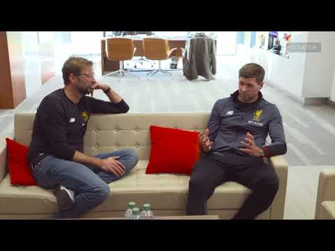 Interview with Jürgen Klopp and Steven Gerrard |This Is Melwood