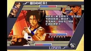 Game Boy Advance Longplay [059] The King of Fighters EX2: Howling Blood