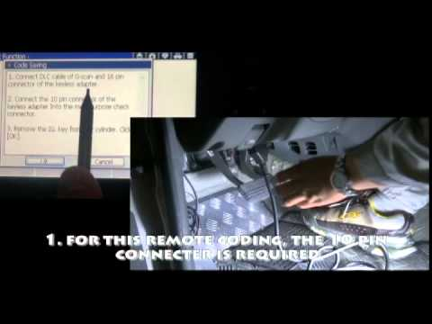 G-scan Transmitter code saving on Hyundai Terracan2006MY