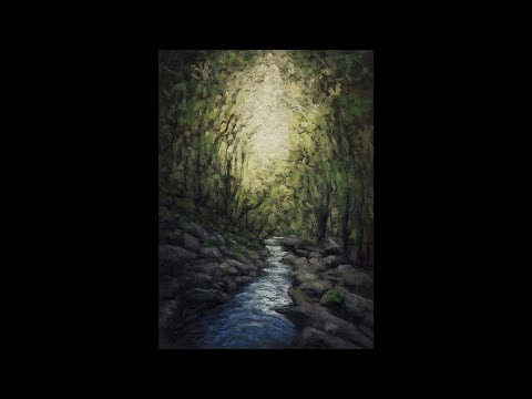 River Light 5×7 Time-lapse Painting Demonstration