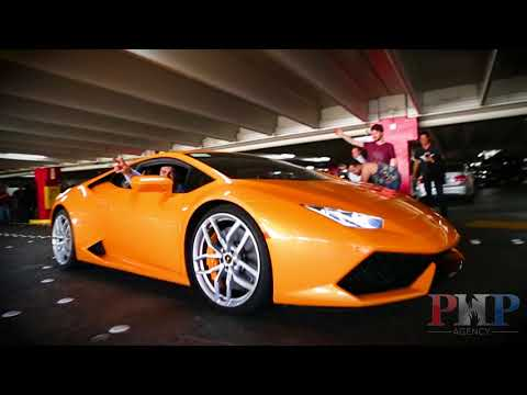 20 Exotic Cars And A Private Party At Wayne Newton's House