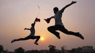 Ушу: от гимнастики к боевому искусству. Фитнес. GuberniaTV(Словом