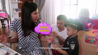 JANJI SUCI - Raffi Mandi Bareng Dengan Rafathar (8/9/18) Part 1