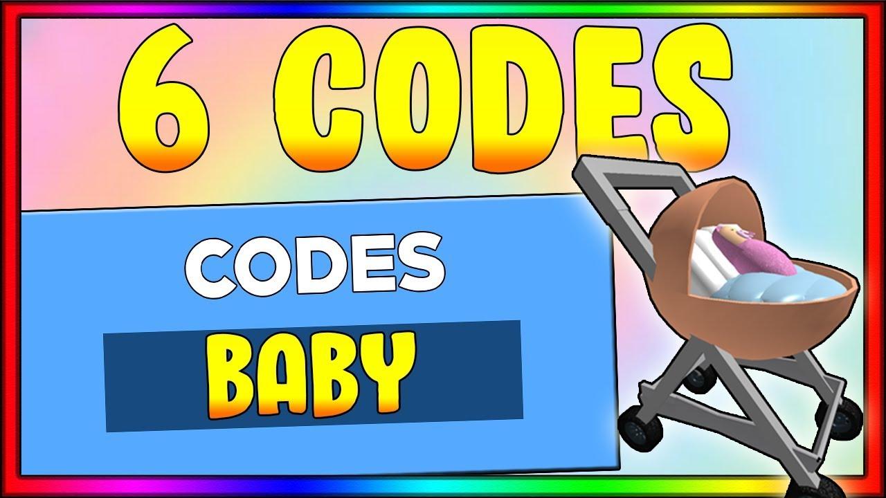 Baby Simulator Codes Roblox Codes Youtube