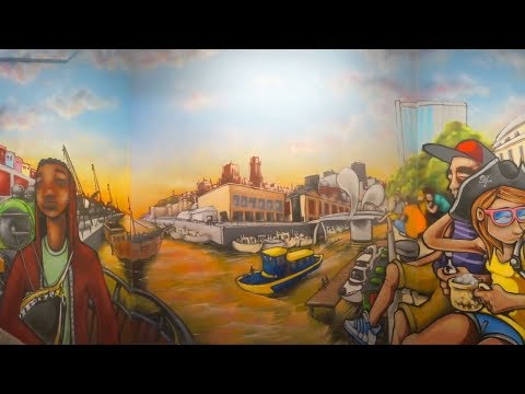Silent – Graffiti Artist & Illustrator | Time-Lapse Bristol University