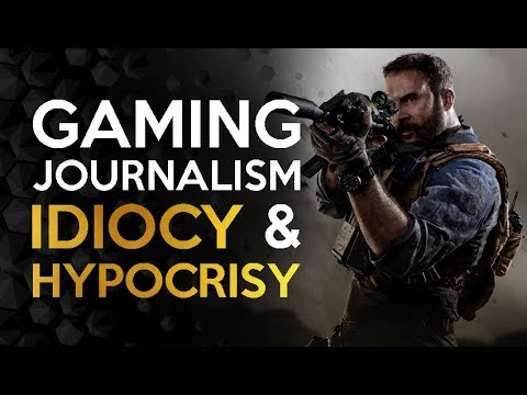 The Continued Idiocy and Hypocrisy of Game Journalists