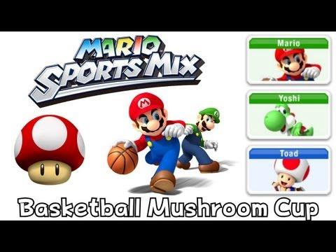 Mario Sport Mix - Basketball - Mushroom Cup (Co-Op)