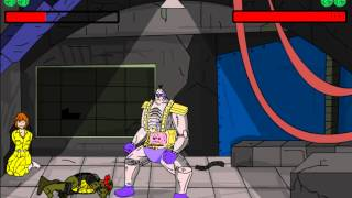 Teenage Mutant Ninja Turtles Flash Fighters (Драки черепашки ниндзя)