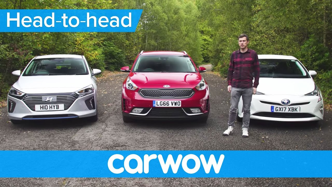 Toyota Prius vs Hyundai Ioniq vs Kia Niro 2018 review – what's the best hybrid? | Head2Head - Dauer: 11 Minuten