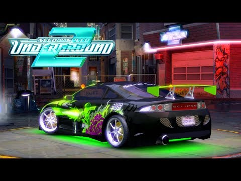 COLOQUEI BODY KIT NA ECLIPSE  - Need for Speed Underground 2