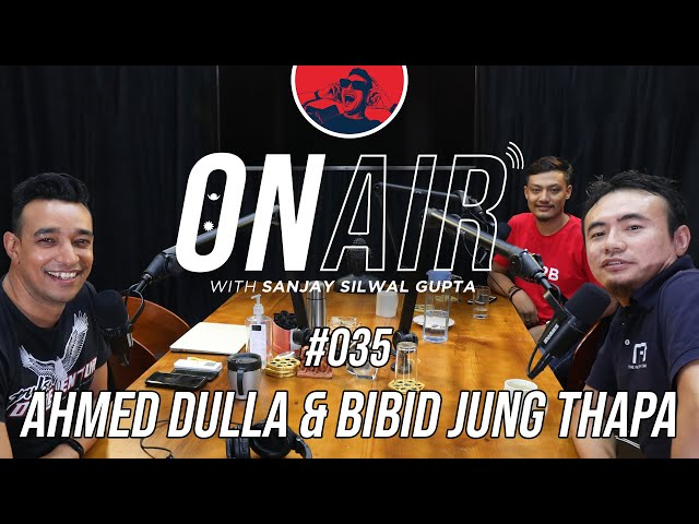 On Air With Sanjay #035 - Ahmed Dulla & MRB Vlogs
