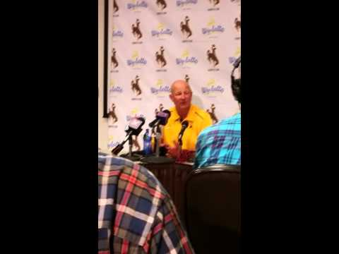 Craig Bohl post game interview