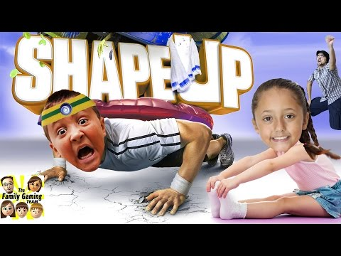 Thumbnail: The FGTEEV WORKOUT! (Shape Up Challenge w/ Skylander Boy and Girl) Xbox One Face Cam Gameplay