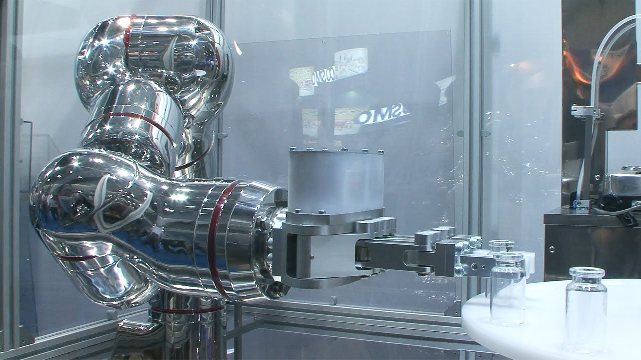 World S First All Stainless Steel Robot With Seven Degrees Of