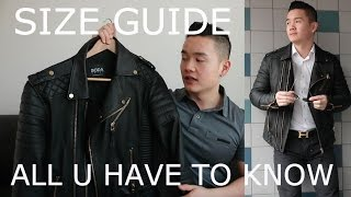REVIEW | SIZE GUIDE TO BODASKINS LEATHER JACKET | DANNY YU