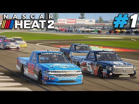 And So It Begins! |#1| NASCAR Heat 2 Career |