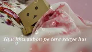 Kyu dard hai itna tere ishq main rabba ve rabba ve all of lovers favourite song with lyrics. ....
