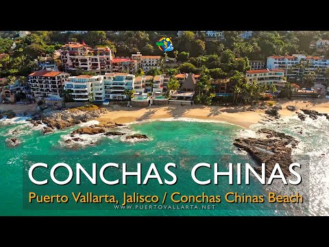 Playa Conchas Chinas recorrido completo (06/12/2019) Conchas Chinas Beach Puerto Vallarta Mexico