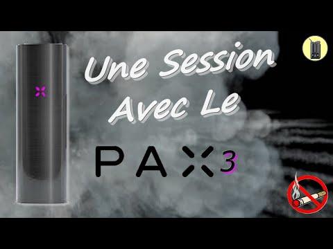 PAX 3, La Session Complète (avec réducteur de bol), Vaporisateur Portable Pax, Test & Avis