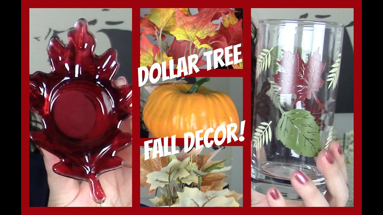 Bathroom Ideas 2014 Big Dollar Tree Fall Decor Haul 2014 Youtube