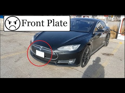Front License Plate Story