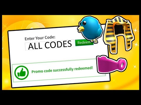 ALL ROBLOX PROMO CODES! (2014 - 2020)