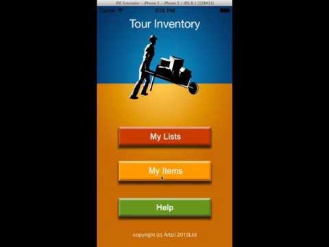 Packing App Listing App