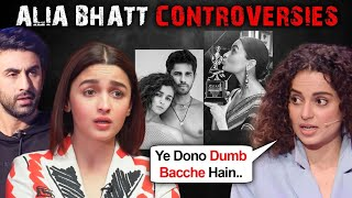 Alia Bhatt INSULTED For Ranbir Kapoor, AIB, Koffee With Karan, Gully Boy Controversies