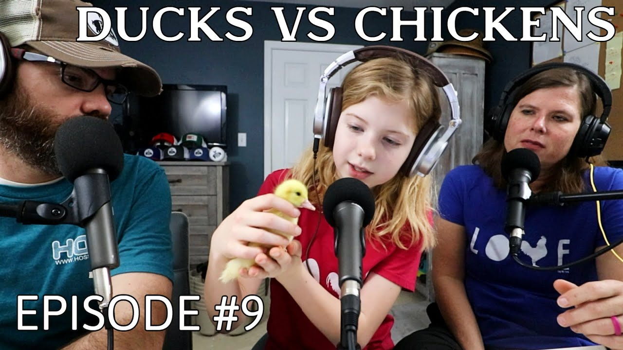 Who's Her Favorite, Ducks or Chickens? And BIG Plans in The Garden - Podcast Episode 9