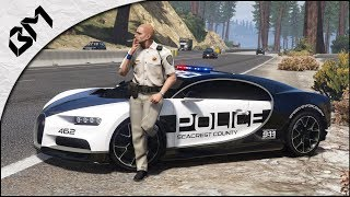 GTA 5 - LSPDFR - HOT PURSUIT - HIGHWAY PATROL - MULTIJOUEUR RP - Patrouille 43